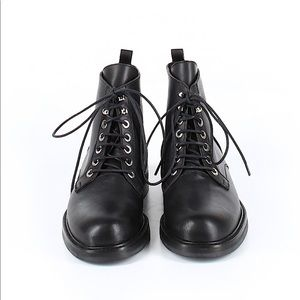 New Theory Black Ankle Boots